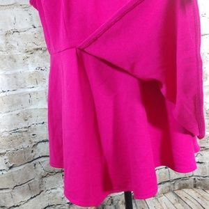 Lane Bryant Tops - NWOT Lane Bryant Pink Sleeveless Peplum Top